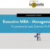 Animation de 2 jours de formation au sein du MBA Management Public avec l'IEP de Rennes